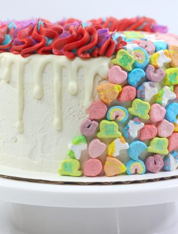 Lucky Charms Layered Cake, Lucky Charms Cake