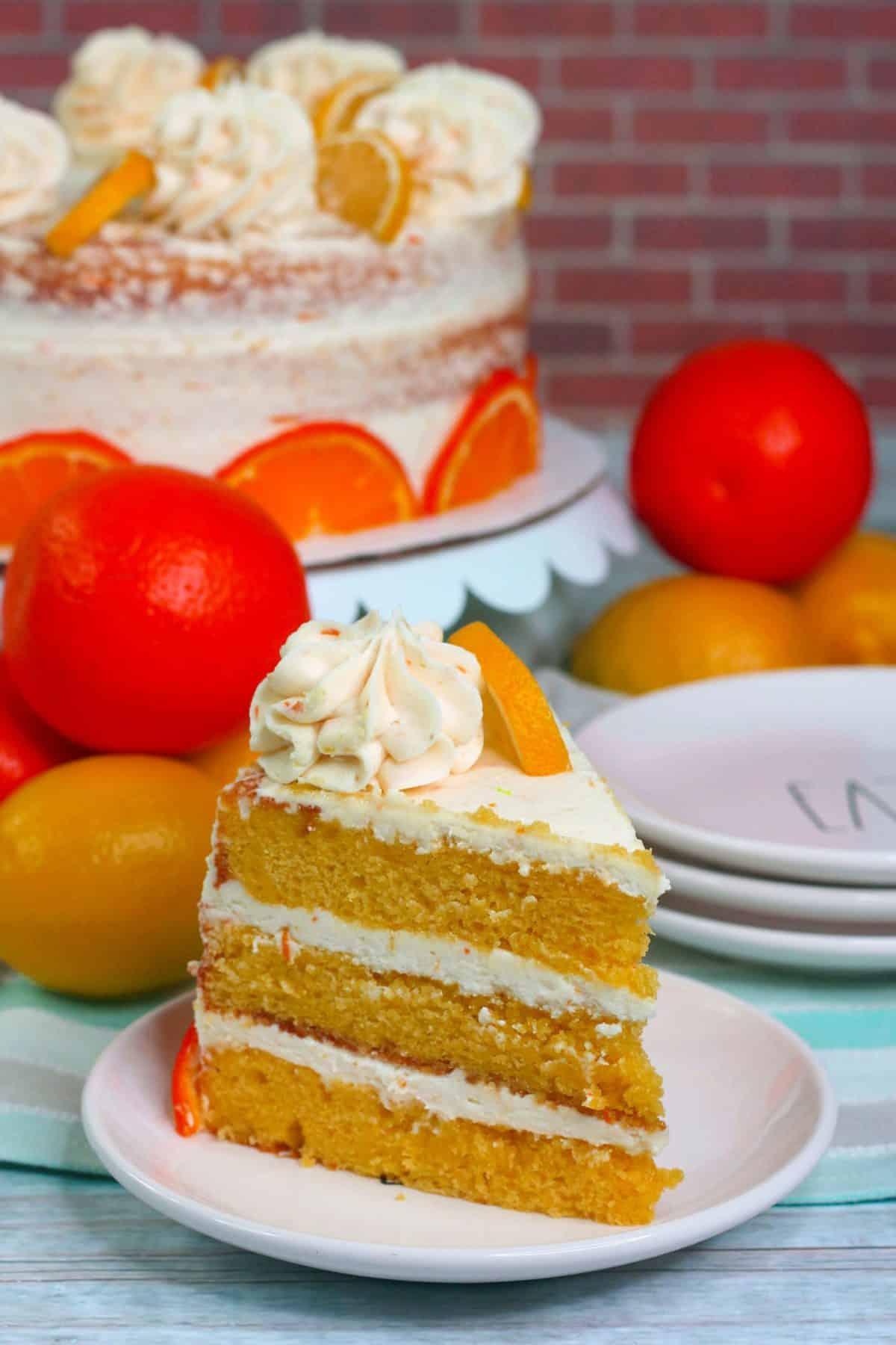 Orange Lemon Cake, lemon cake recipe