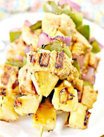 Pineapple Chicken Kebabs