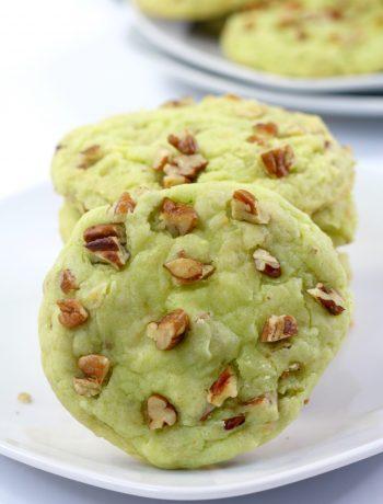 Pistachio Watergate Cookies, Classic Cookie Recipe