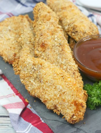 Pretzel Crusted Chicken, Air Fryer Chicken
