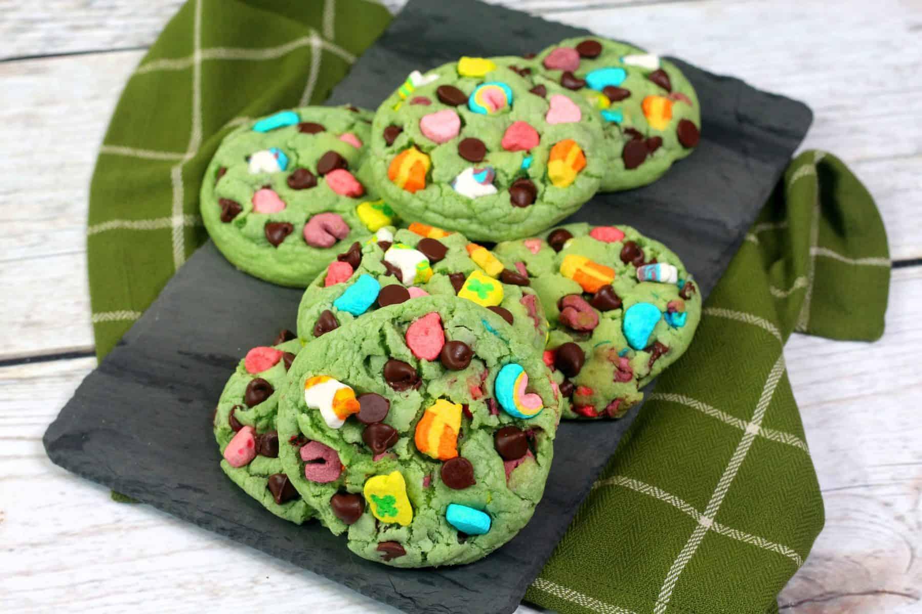St. Patricks Day Cookie Recipe, Wacky Charm cookies