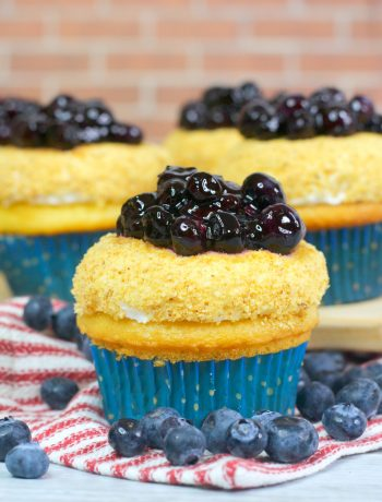 blueberry pie cupcakes, blueberry cupcakes