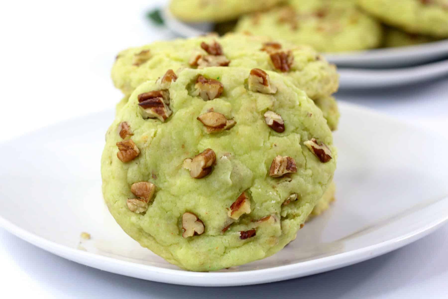 cake mix cookie recipe, easy cake mix watergate cookie recipe