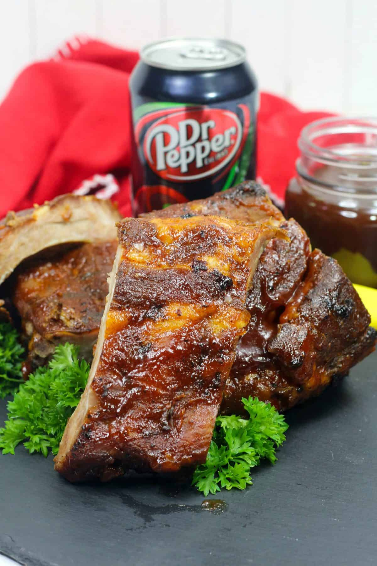 dr pepper ribs, dr pepper marinade