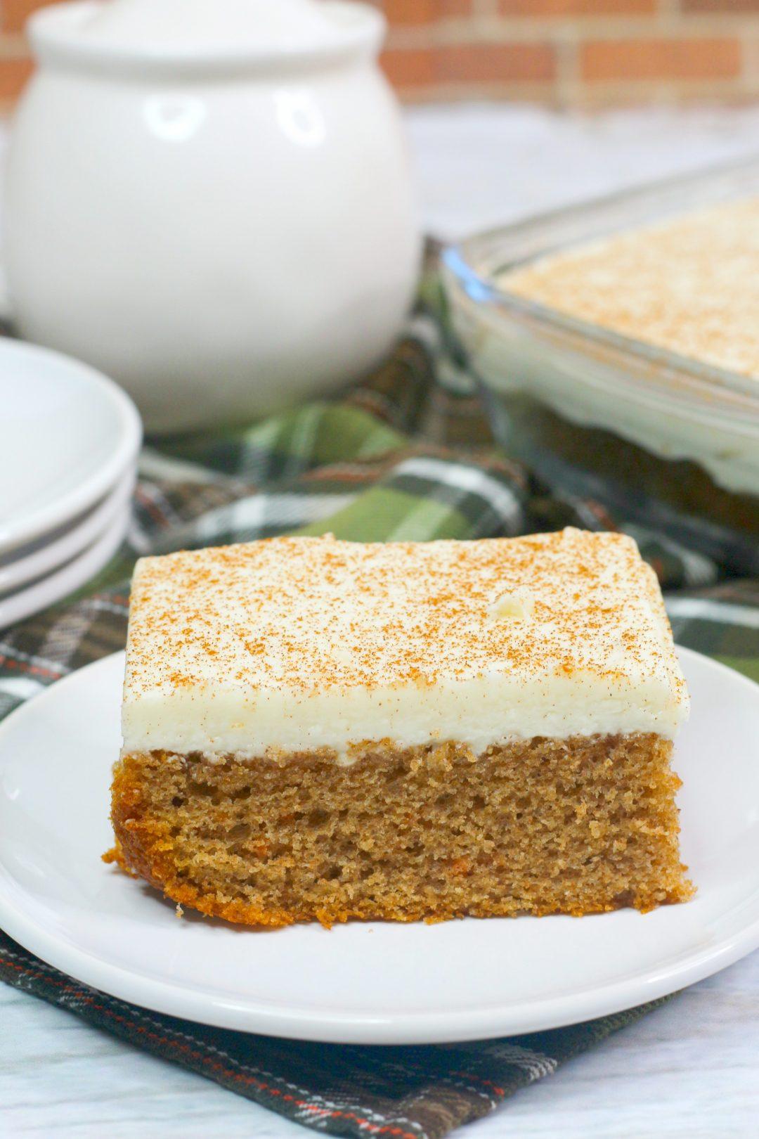 easy carrot cake, rustic carrot cake