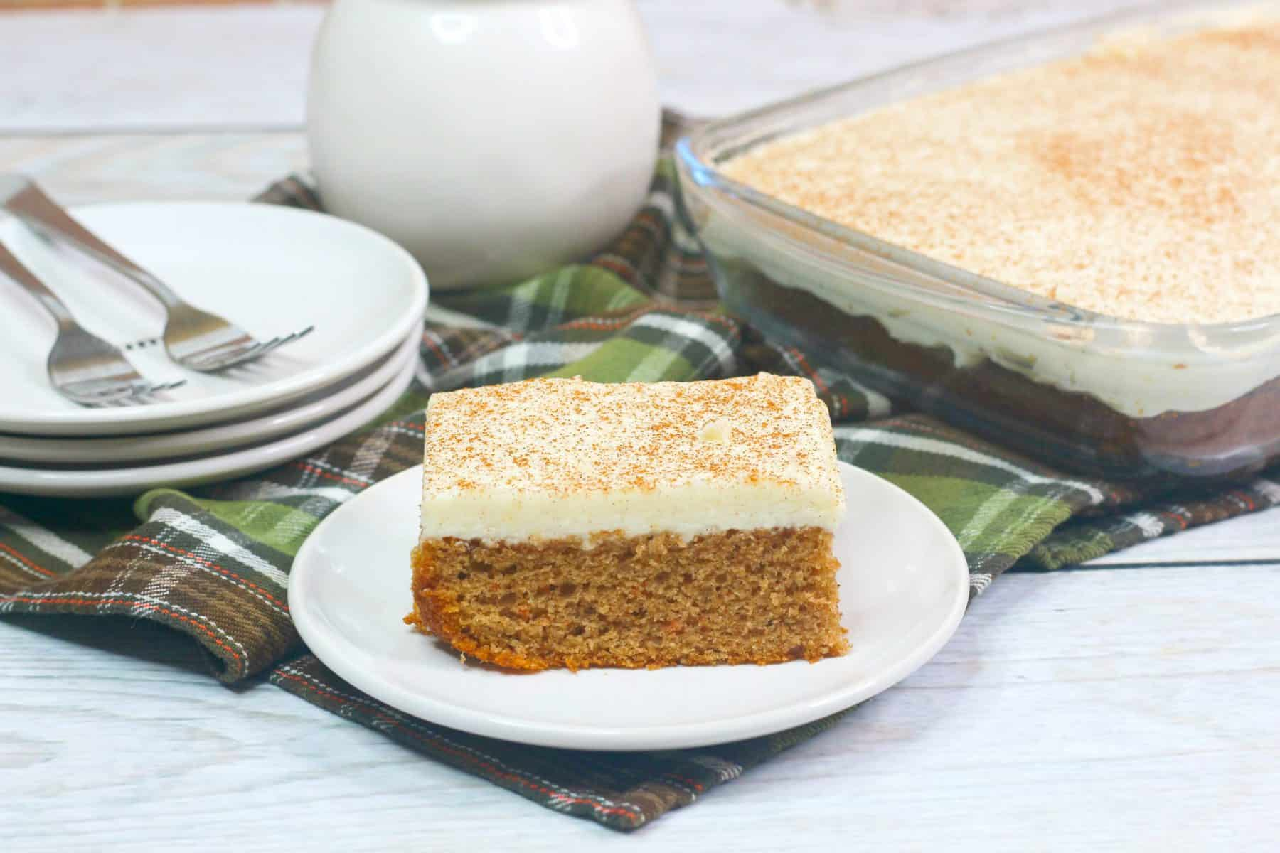 easy carrot cake with cream cheese frosting, Easter Dessert