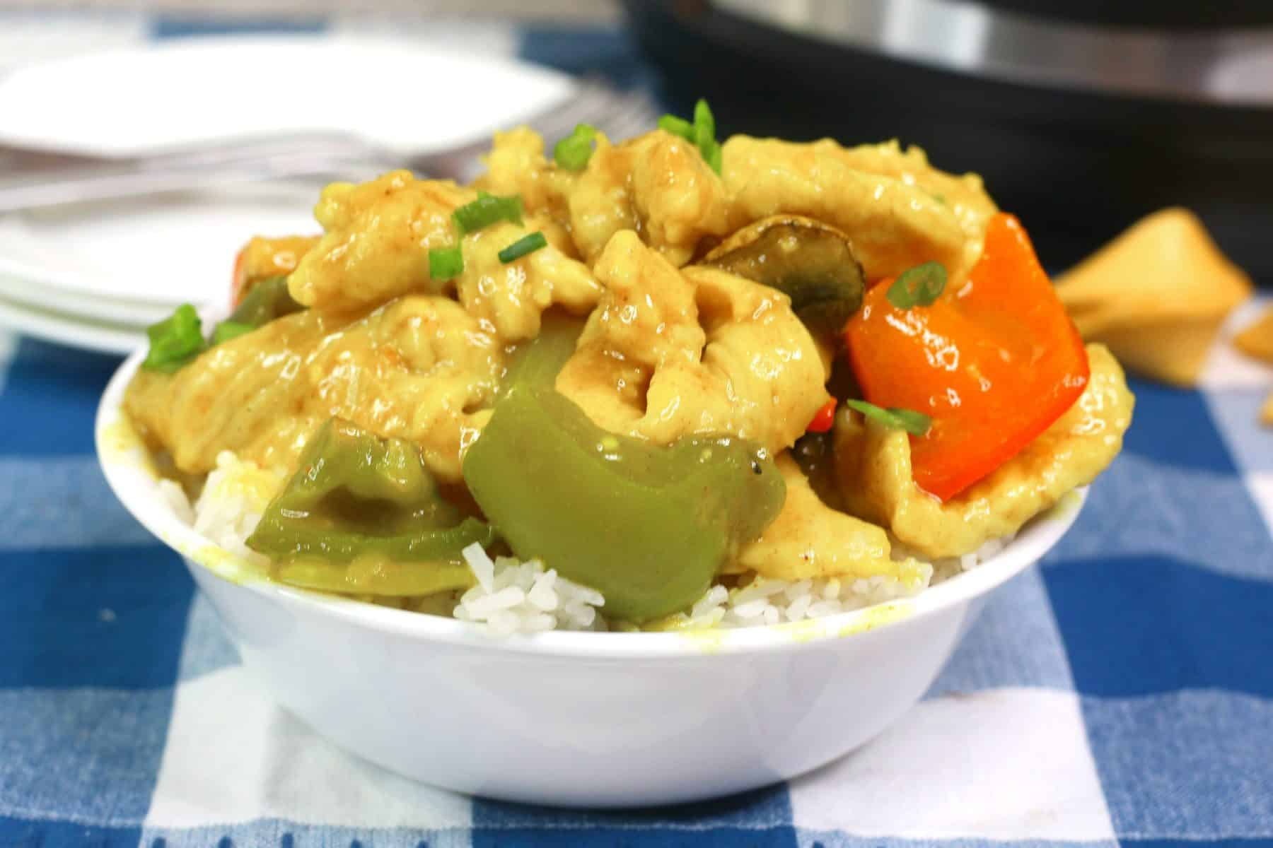 easy curry recipe, curry chicken pressure cooker
