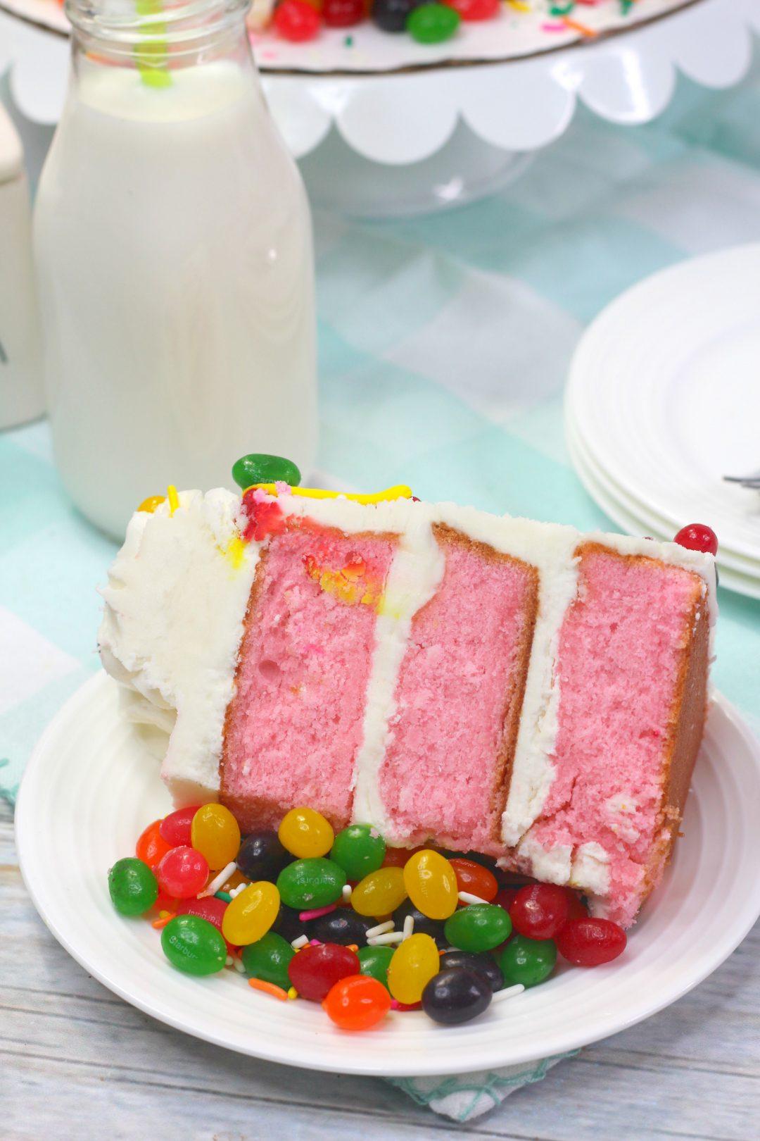 jelly bean cake, easy Easter cake