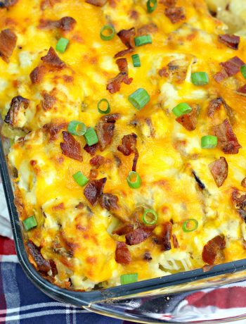potato bacon casserole, cheesy potato recipe