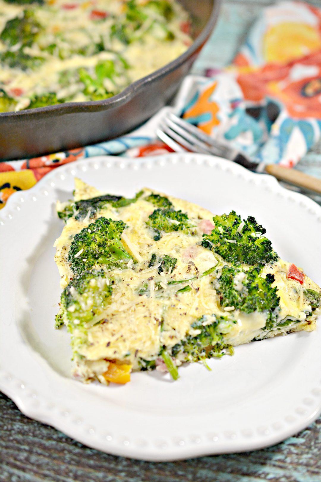 15 Minute Loaded Omelette