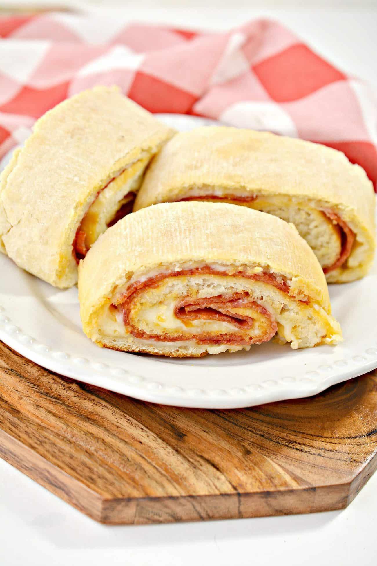 Pepperoni Pizza Bread Recipe