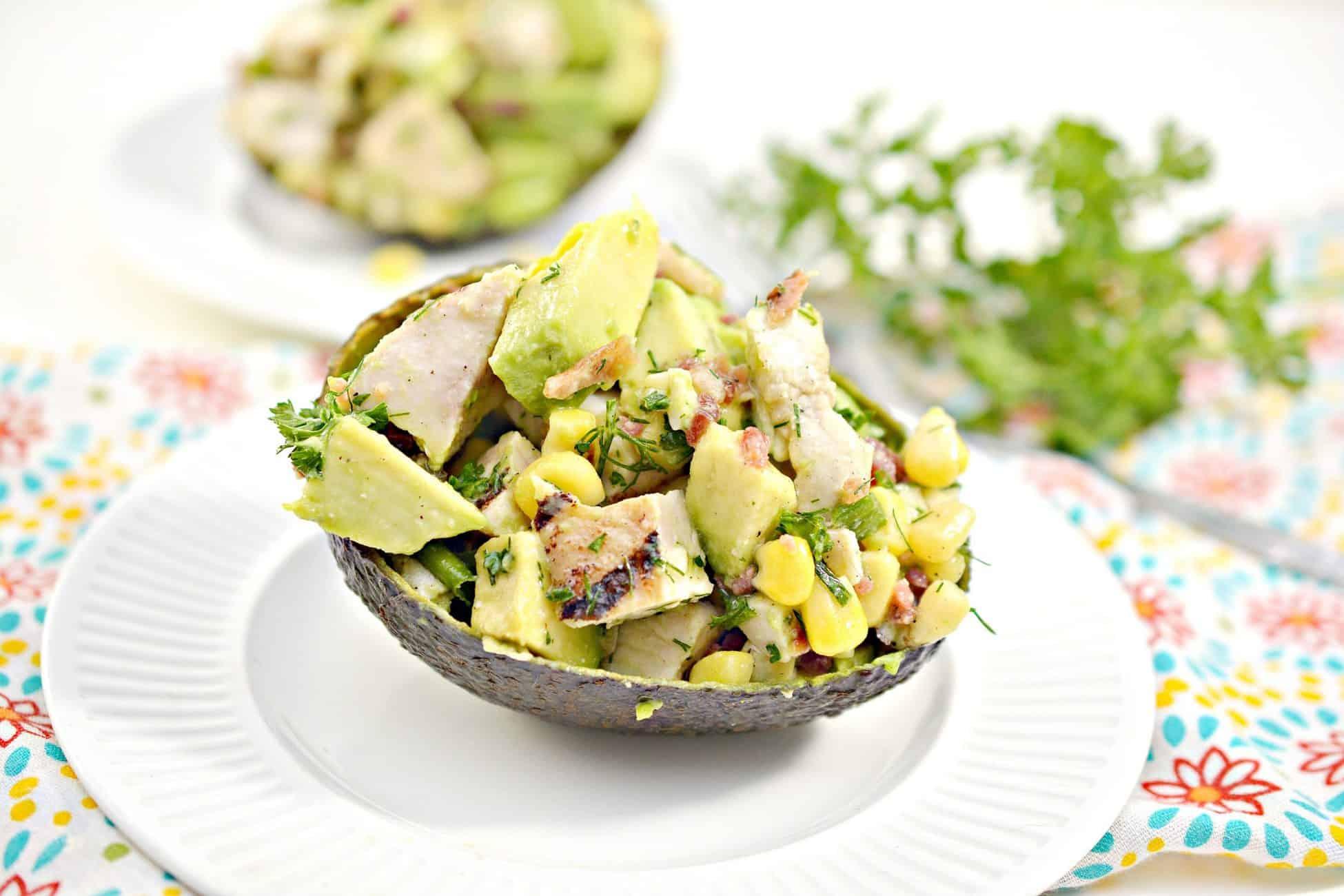 Fresh Avocado Chicken Salad