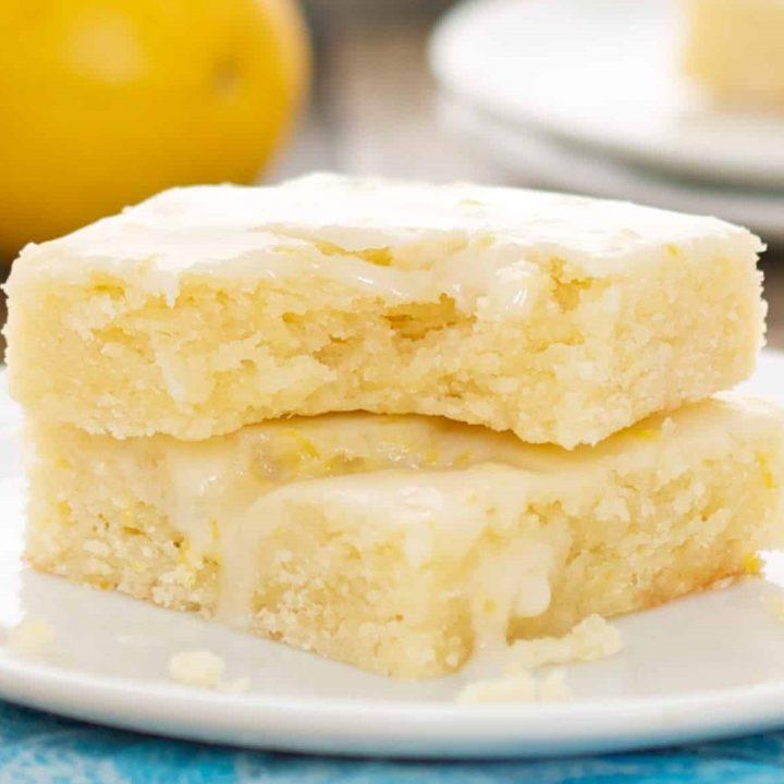 Lemonies {Lemon Brownies}