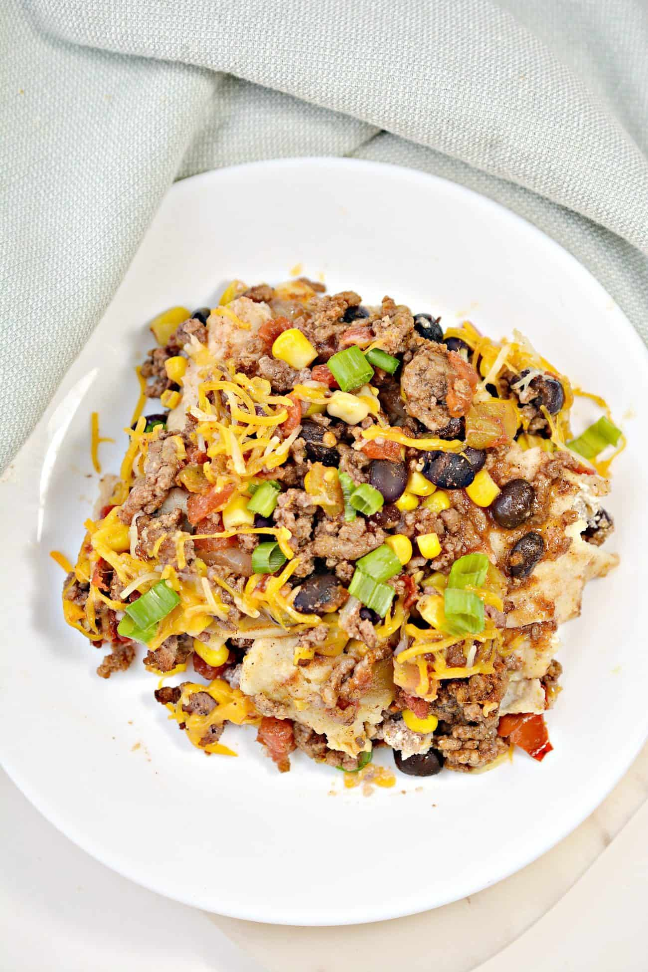 Mexican Casserole with Beef