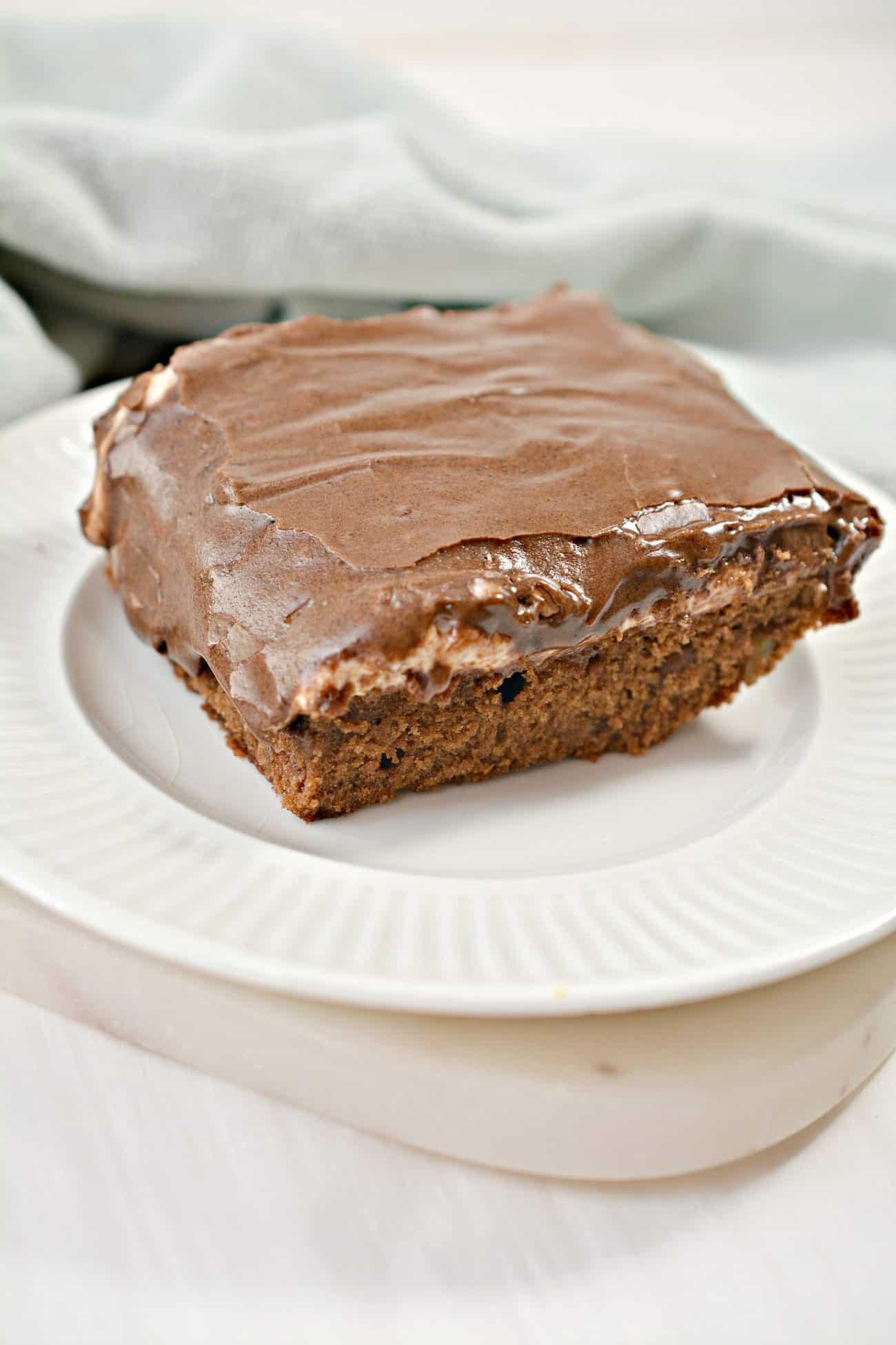 Mississippi Mud Cake