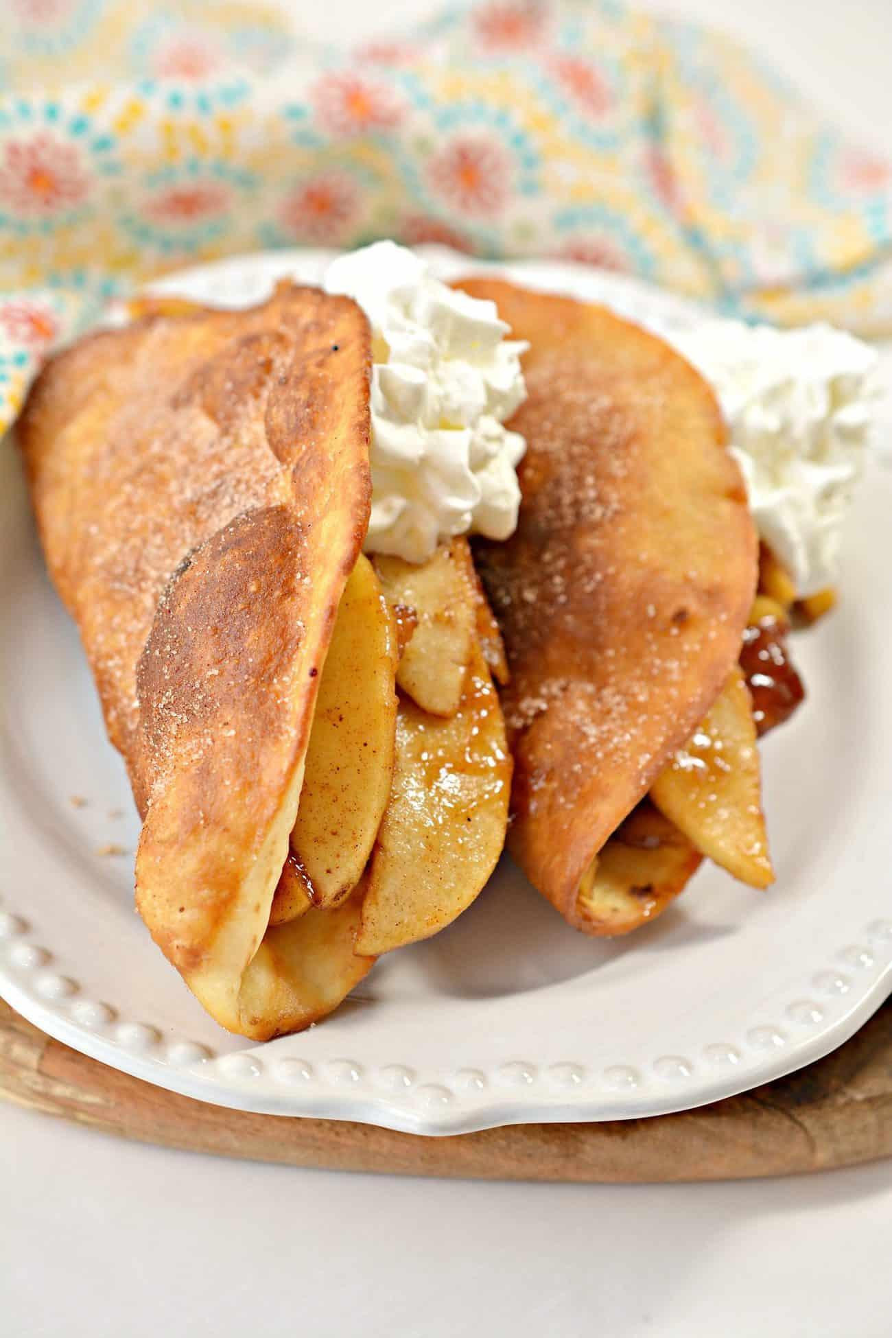 Apple Pie Tacos