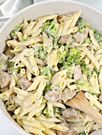 Cajun Chicken Broccoli Alfredo
