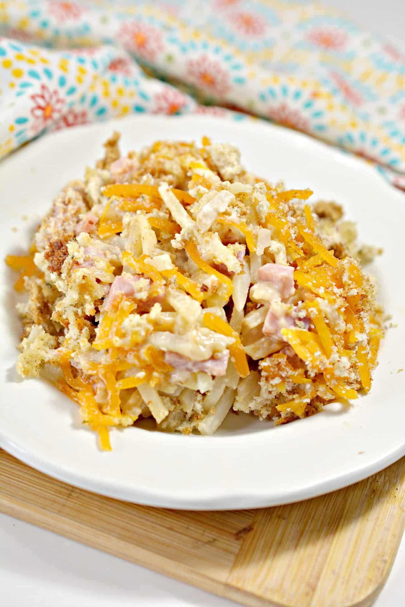 Crockpot Ham and Potato Casserole