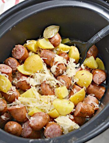 Polish Sausage, Sauerkraut And Potatoes (Crockpot)
