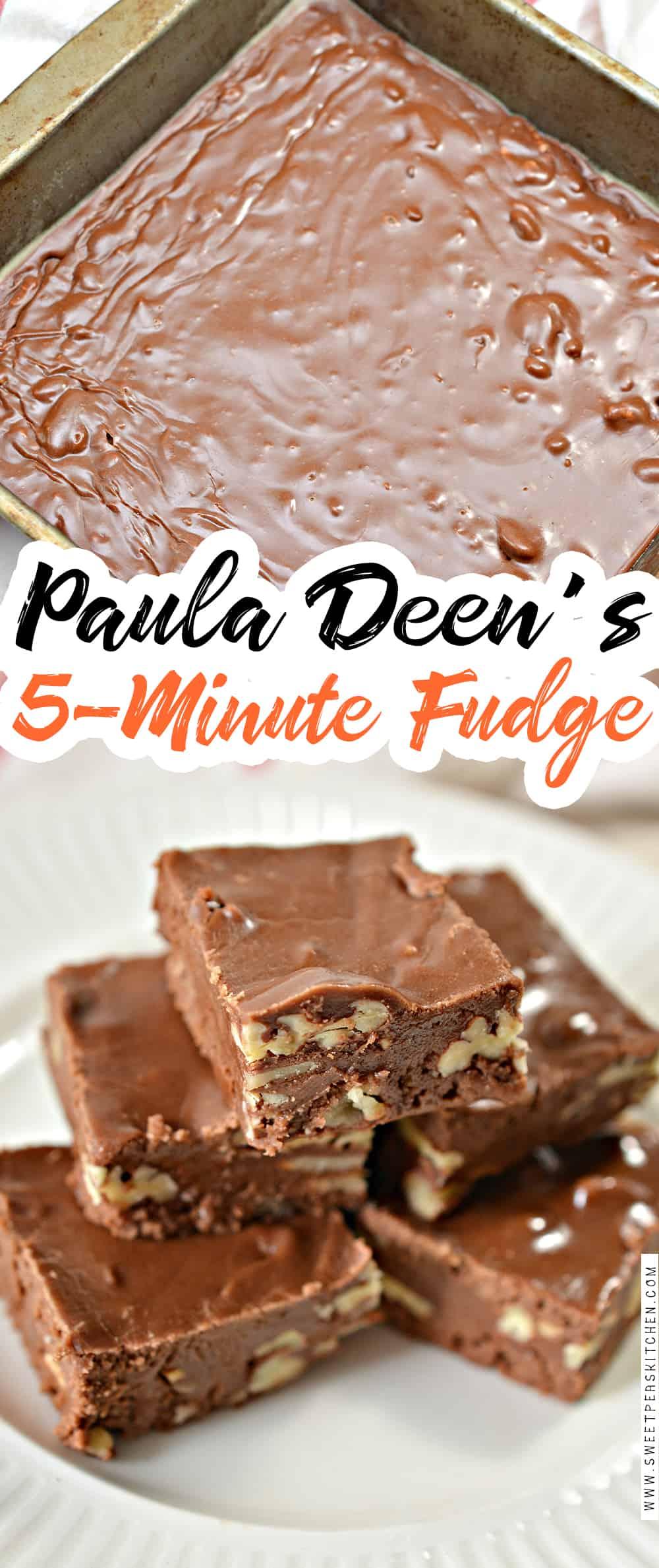 Paula Deen's 5-Minute Fudge