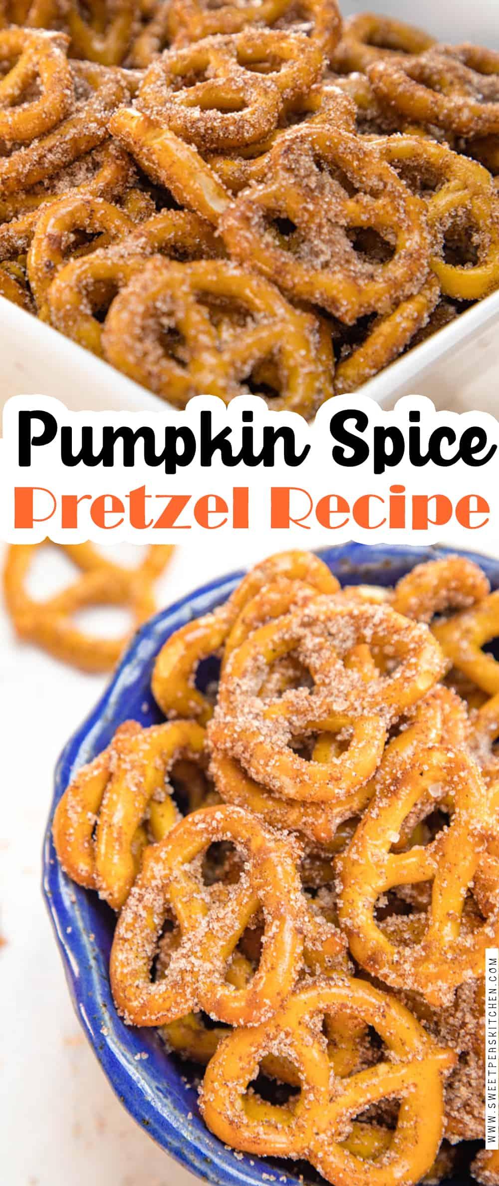 Pumpkin Spice Pretzel Recipe