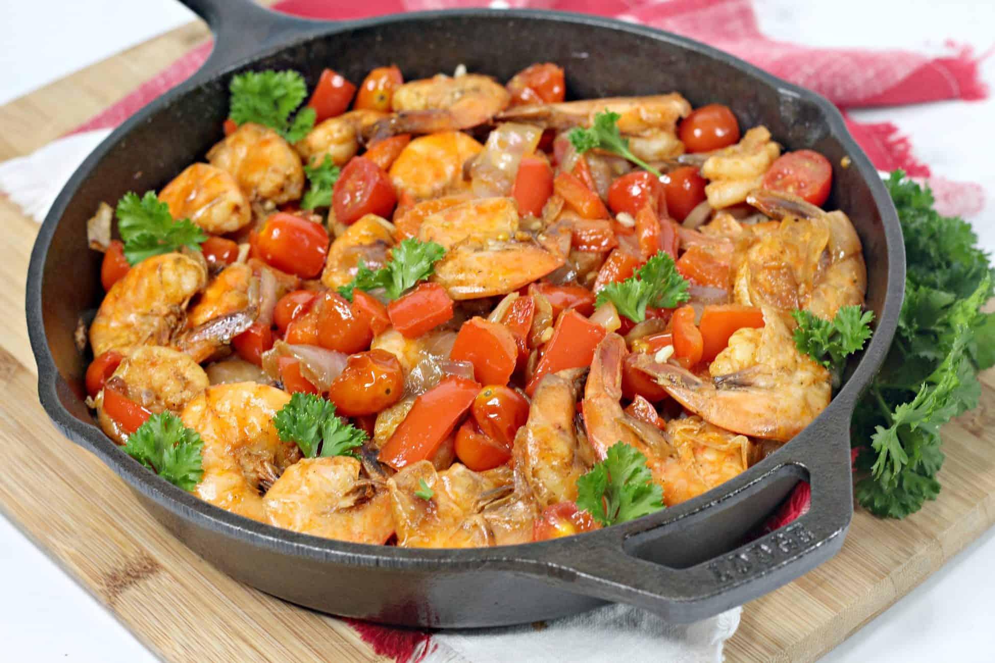 Spanish Shrimp with Rice - Sweet Pea's Kitchen
