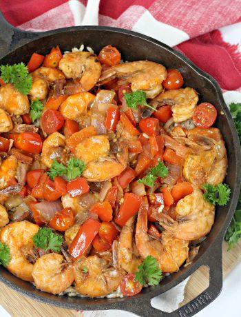 Spanish Shrimp with Rice