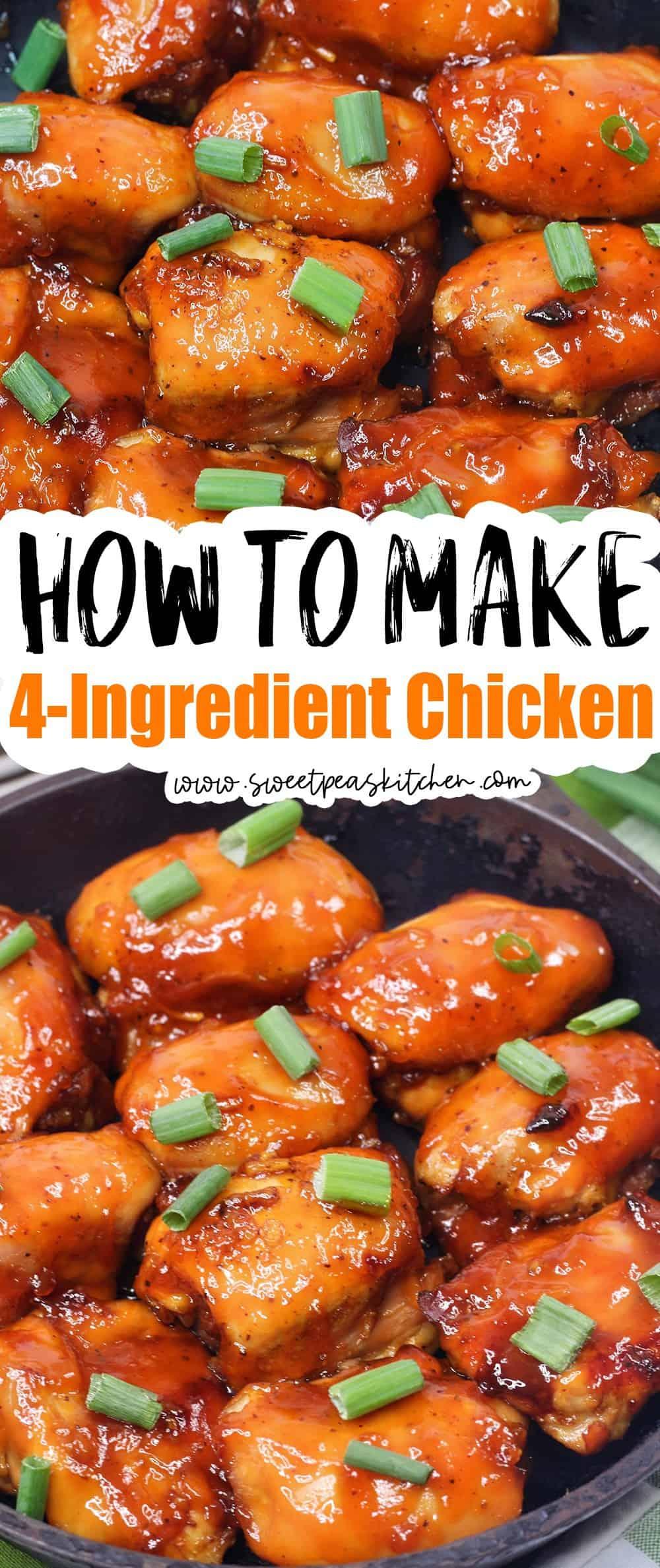 4-Ingredient Chicken