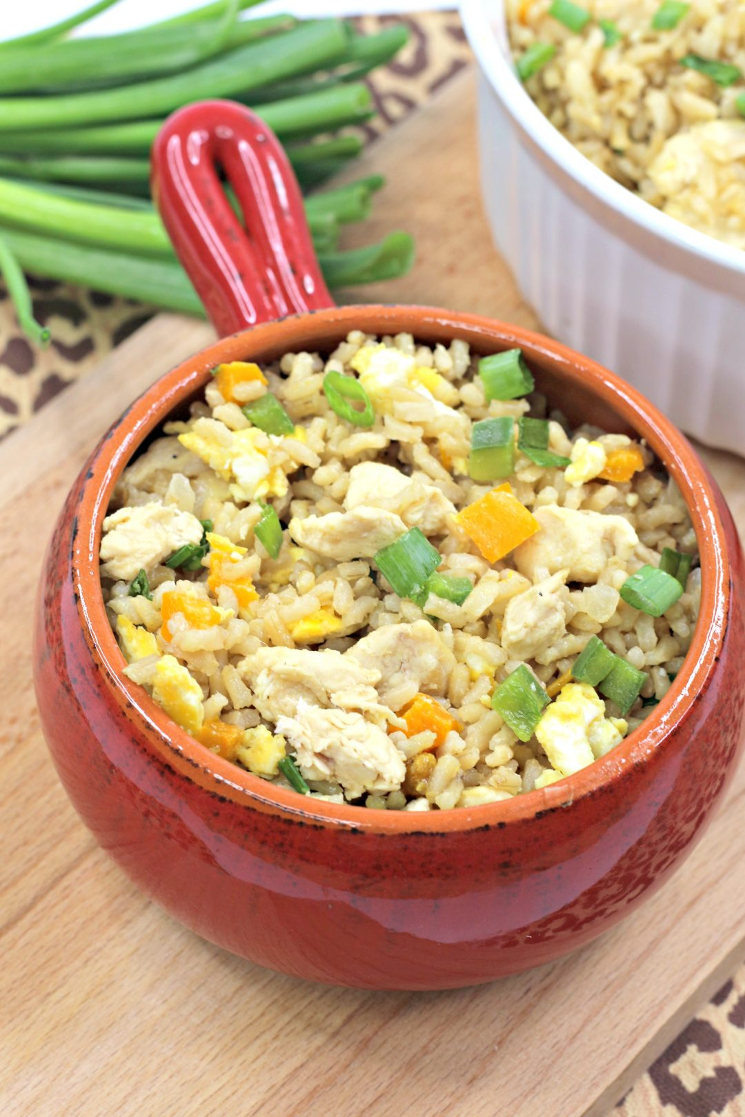 Clean Eating Chicken Fried Rice