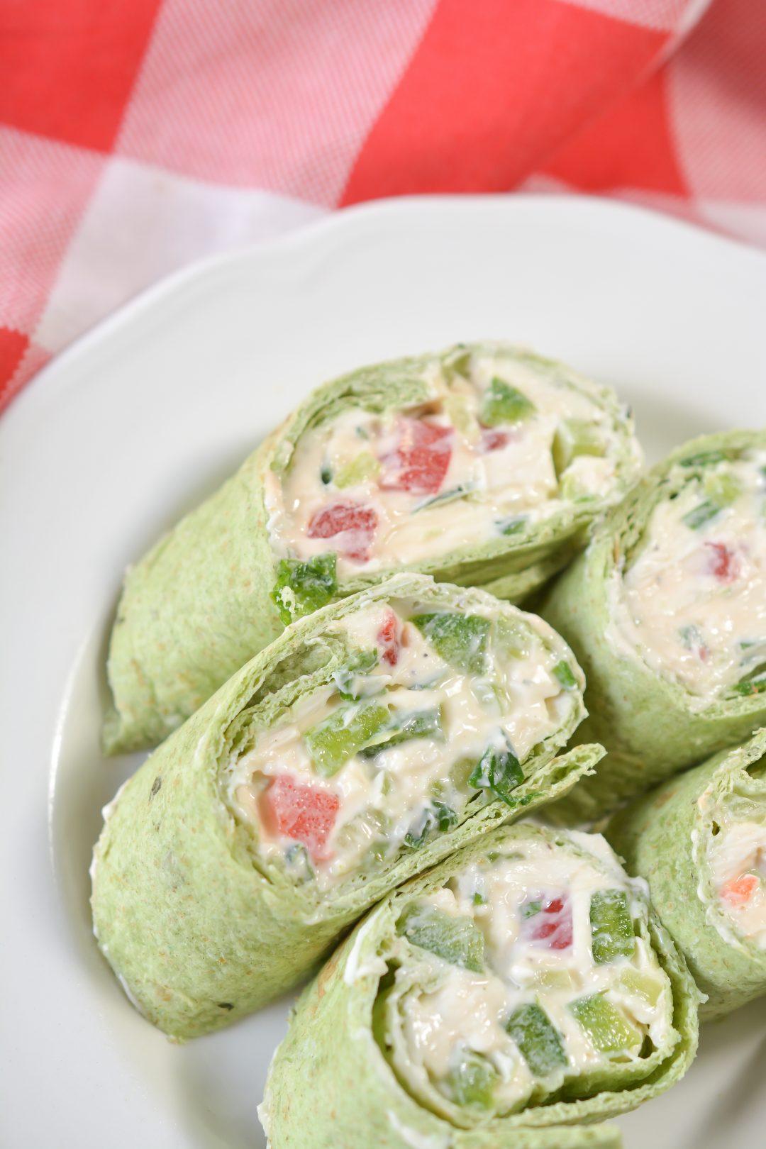 Cream Cheese Veggie Rollups