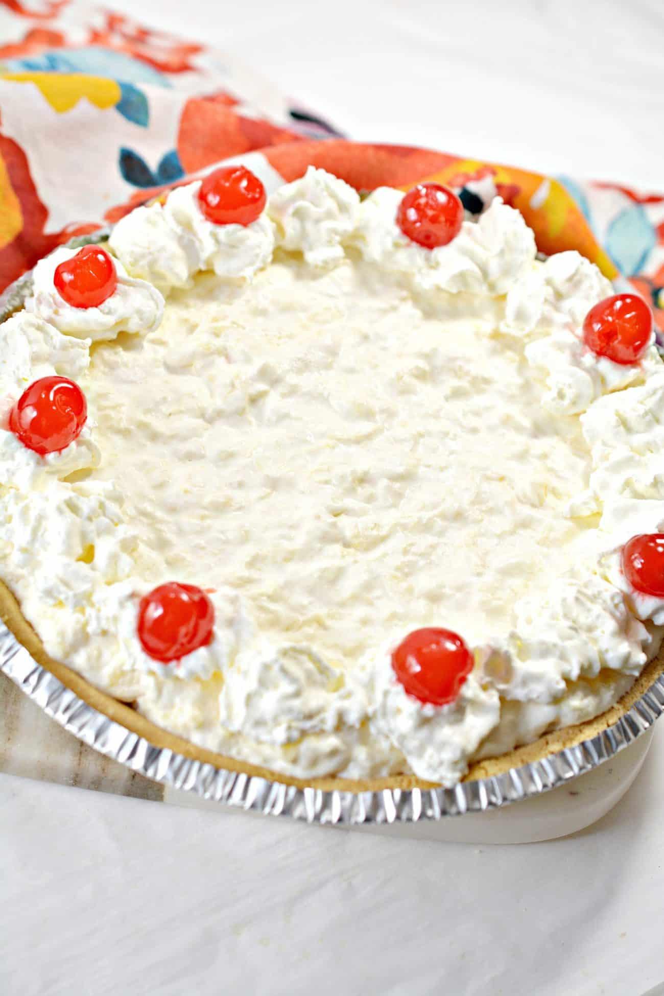 Creamy Pineapple Cheesecake