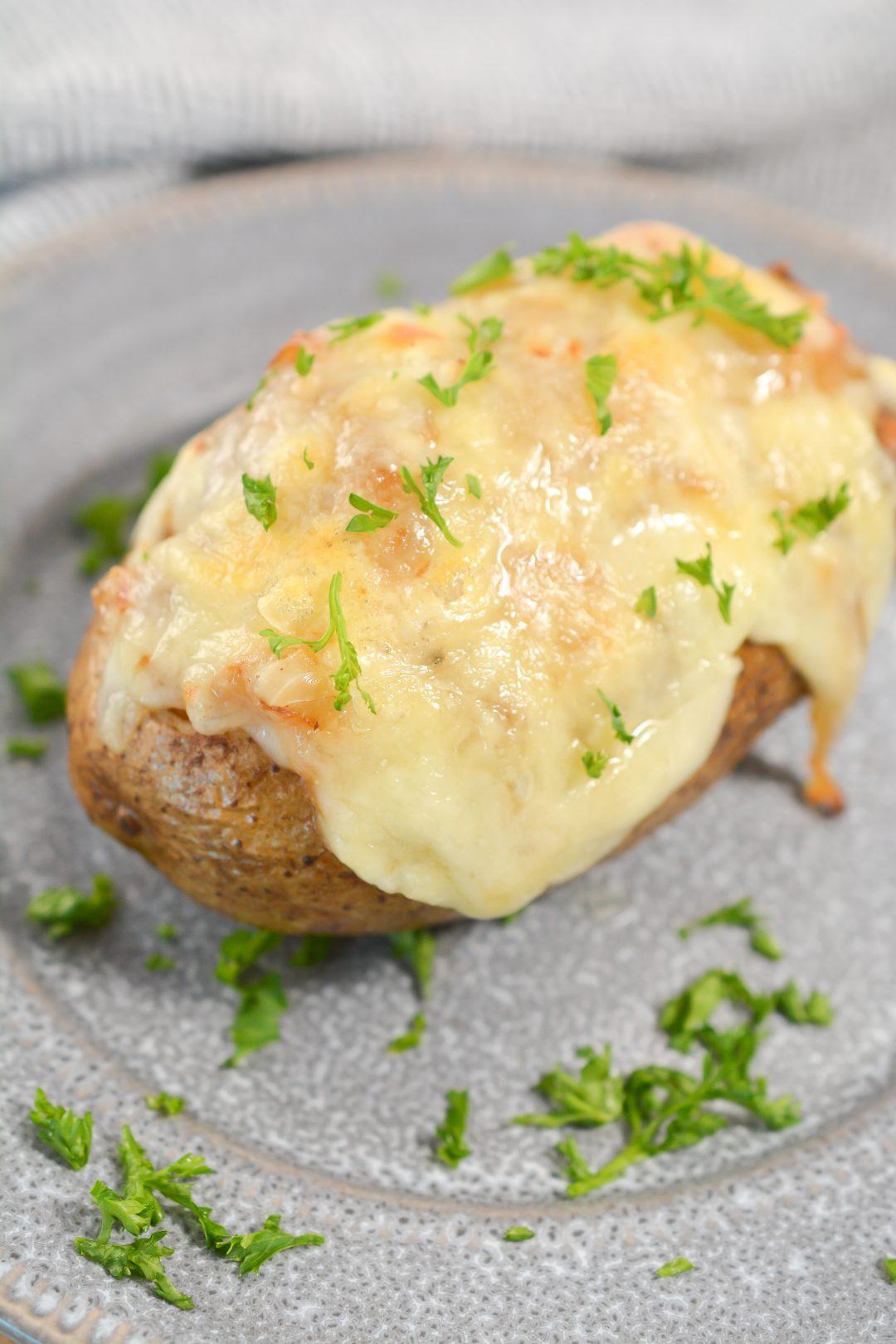 French Onion Stuffed Potatoes