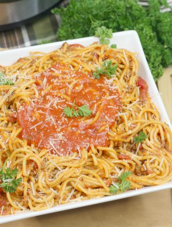 Instant Pot Spaghetti and Meat