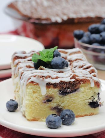 Easy Lemon Blueberry Breakfast Cake Recipe