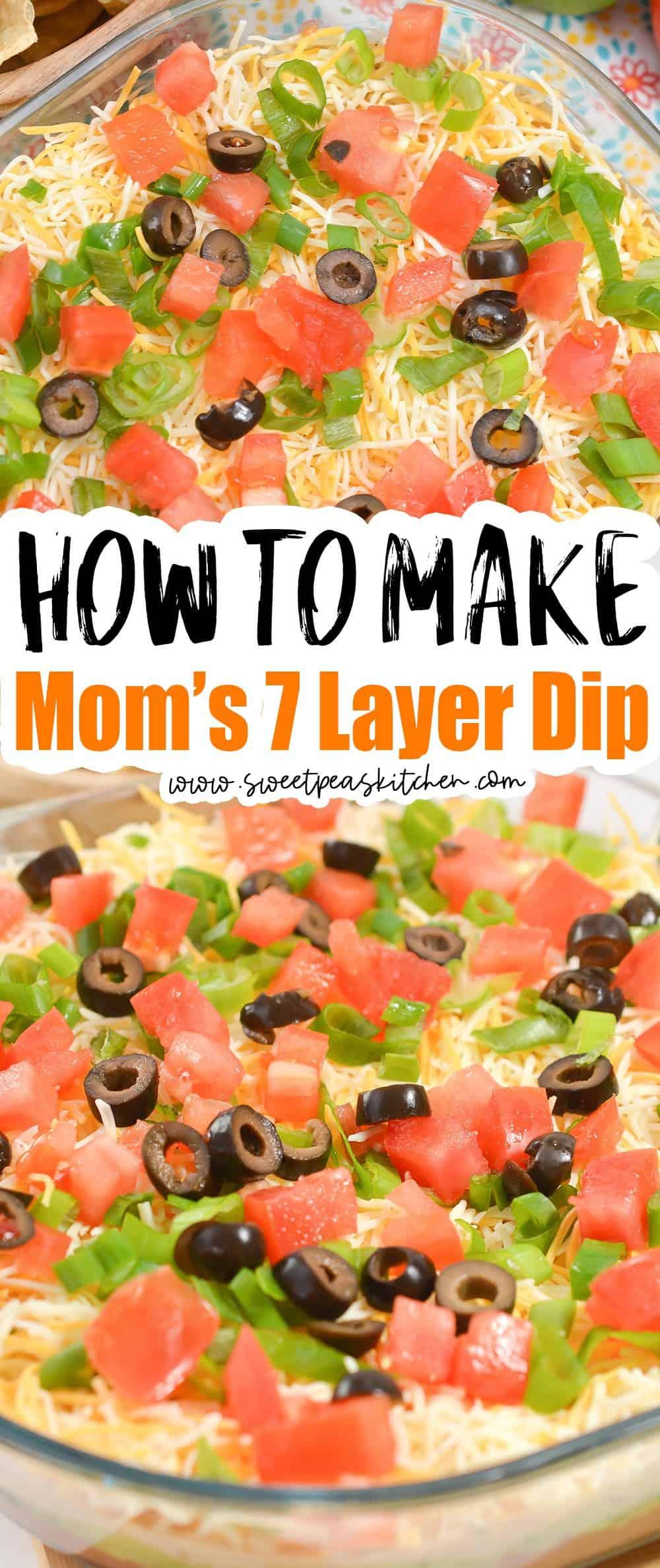 Mom's 7 Layer Dip