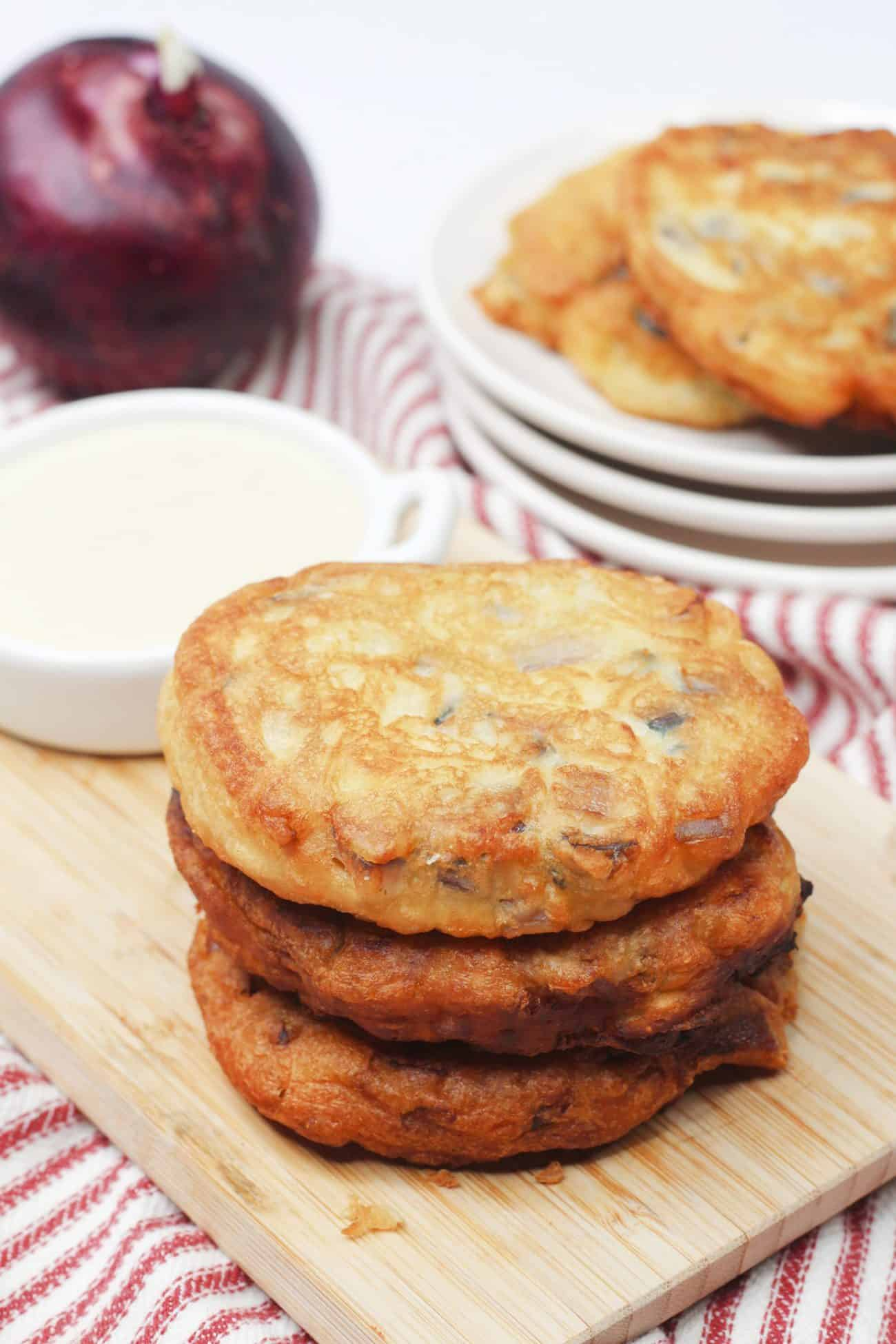 Onion Friters - Amish Recipe