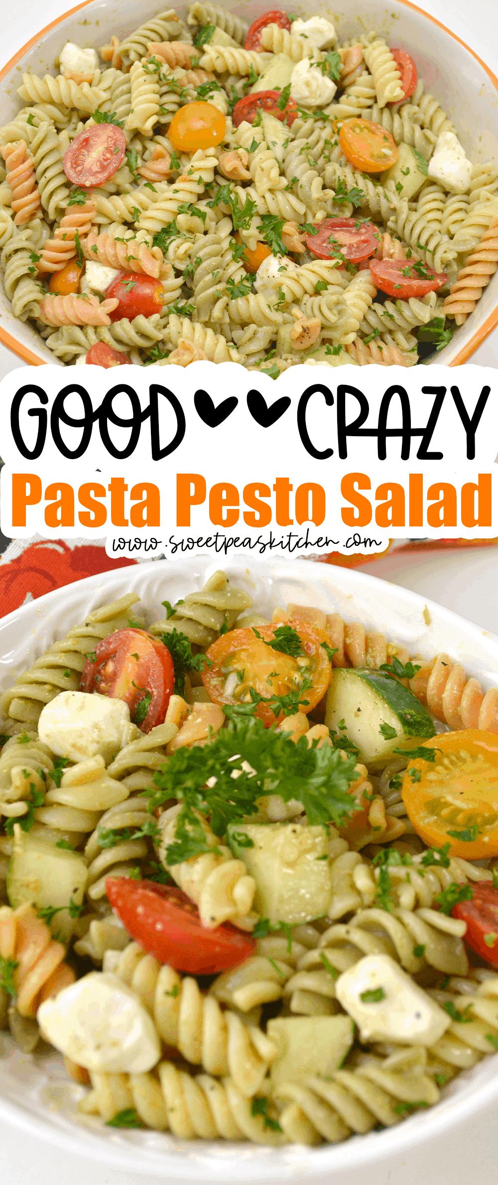 Pasta Pesto Salad