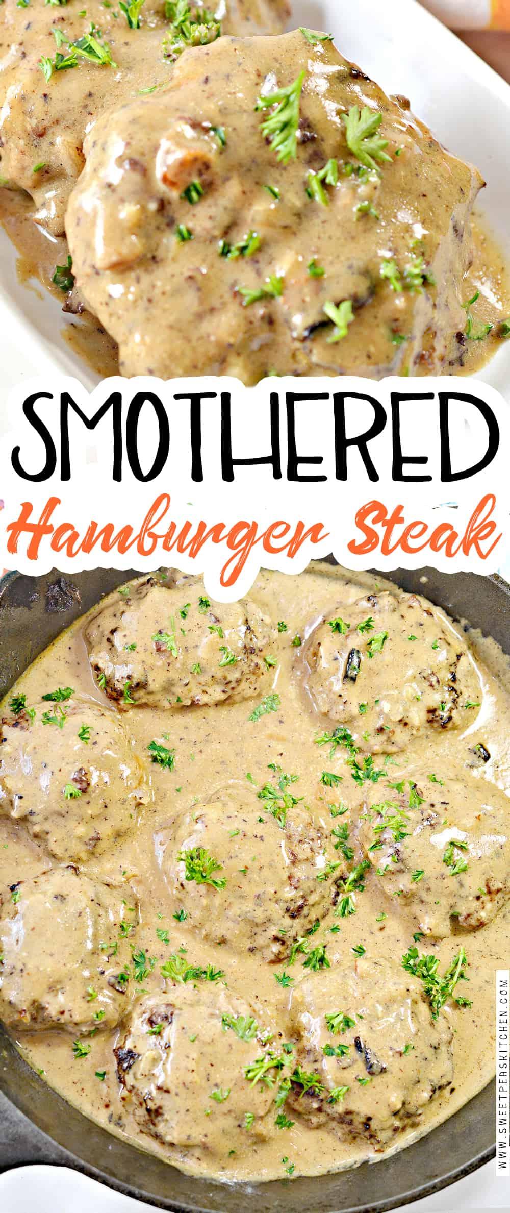 Smothered Hamburger Steak