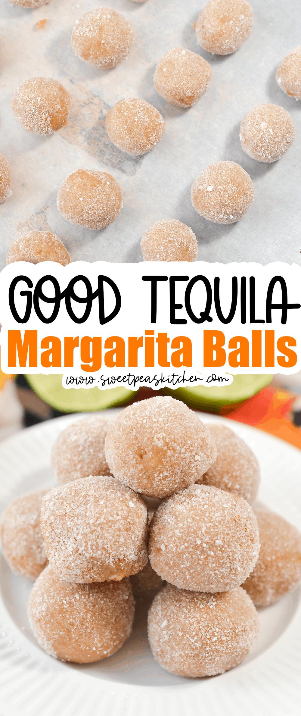 Tequila Margarita Balls