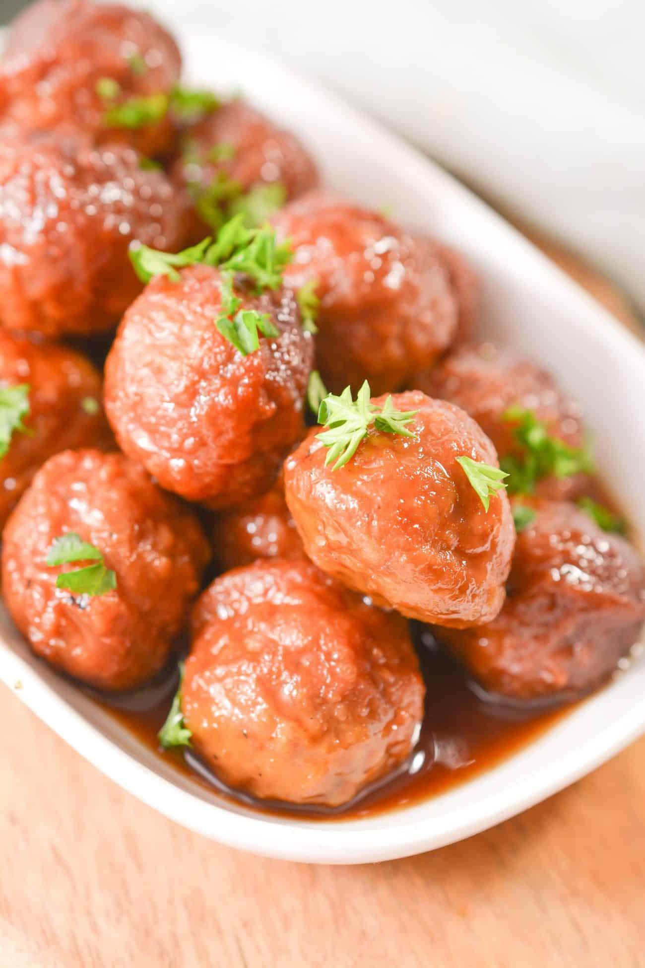 Best Crockpot Meatballs