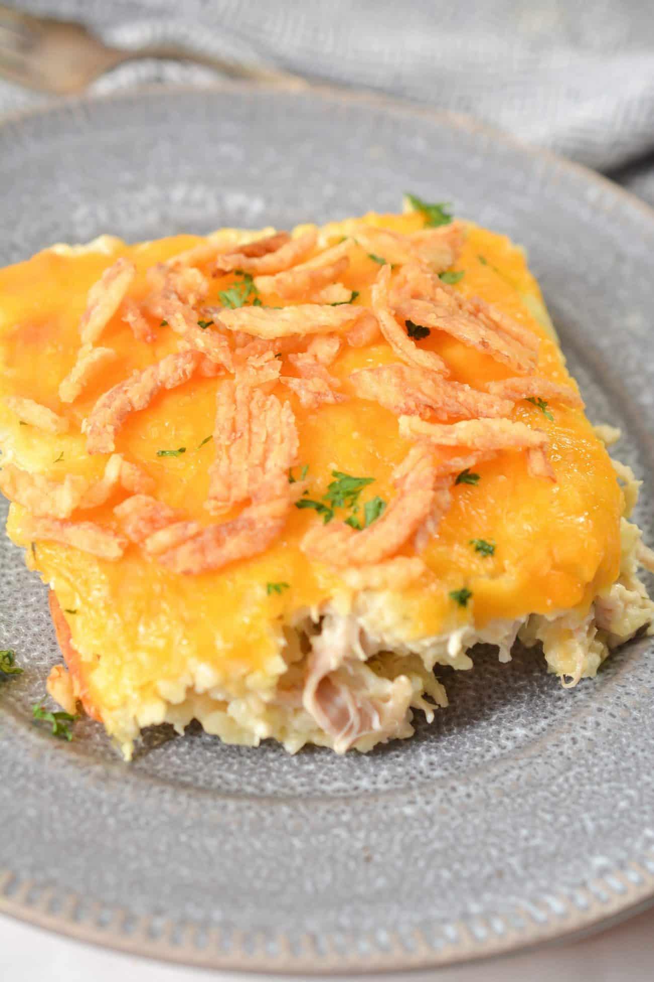 Creamy Chicken & Rice Casserole