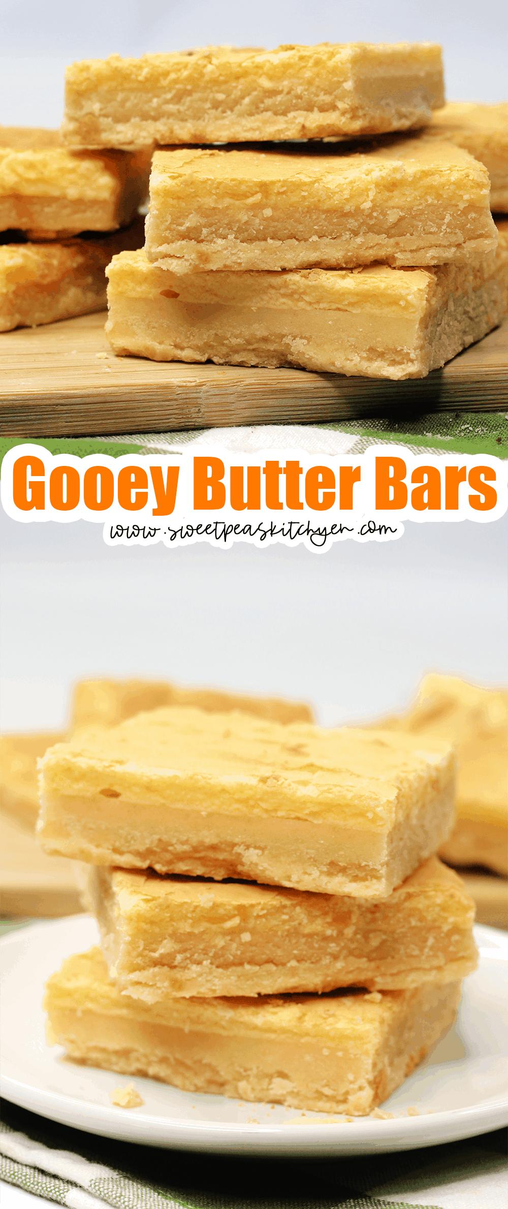 Gooey Butter Bars