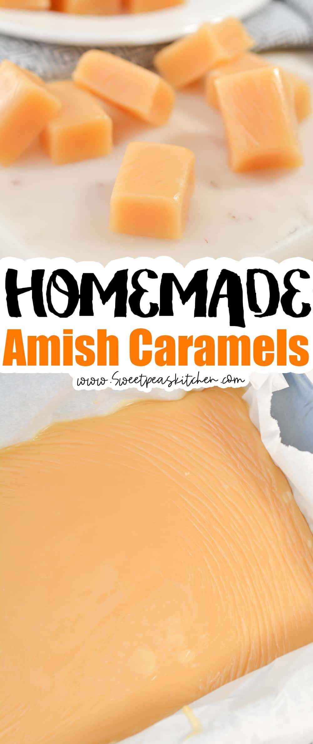 Homemade Amish Caramels