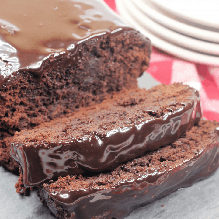 Hot Fudge Brownie Bread