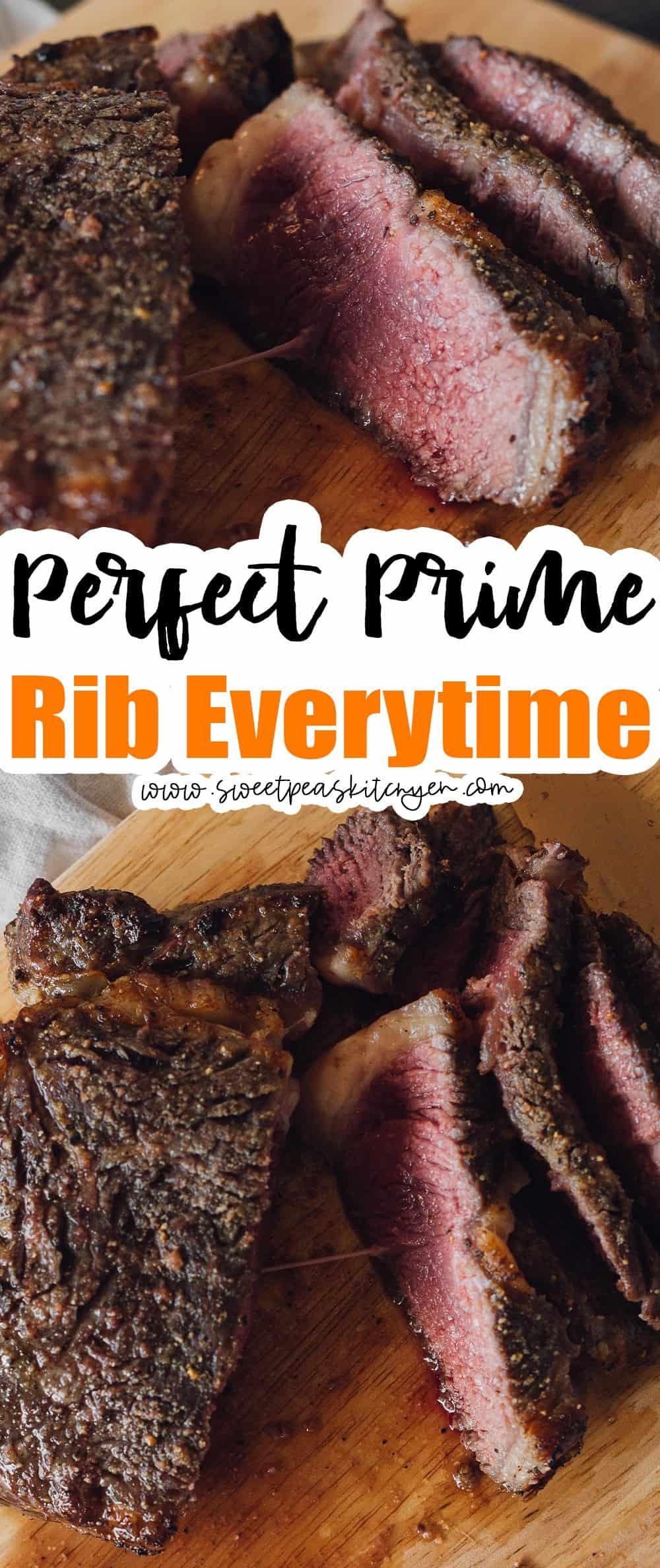 Perfect Prime Rib Everytime
