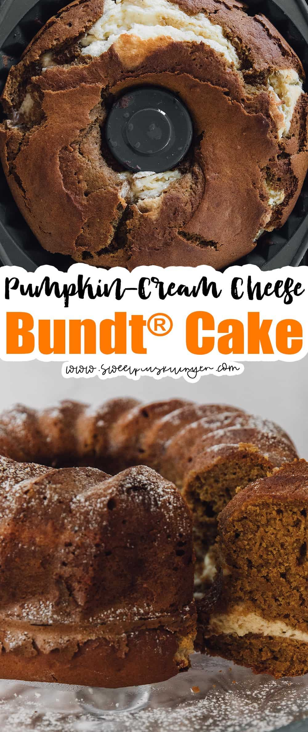 Pumpkin Cake with Cream Cheese Filling