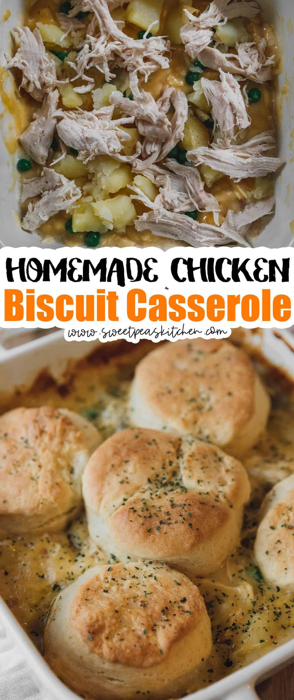 Chicken Biscuit Casserole