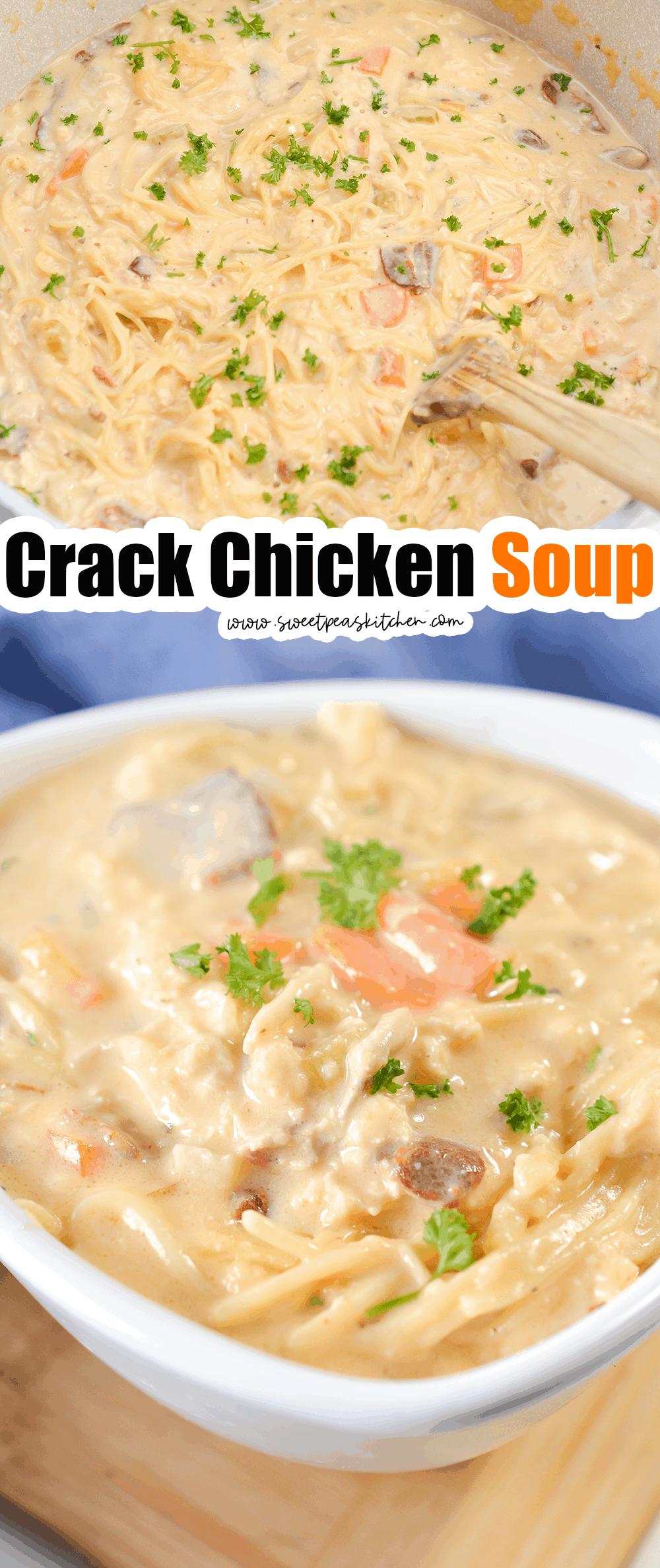 Crack Chicken Soup