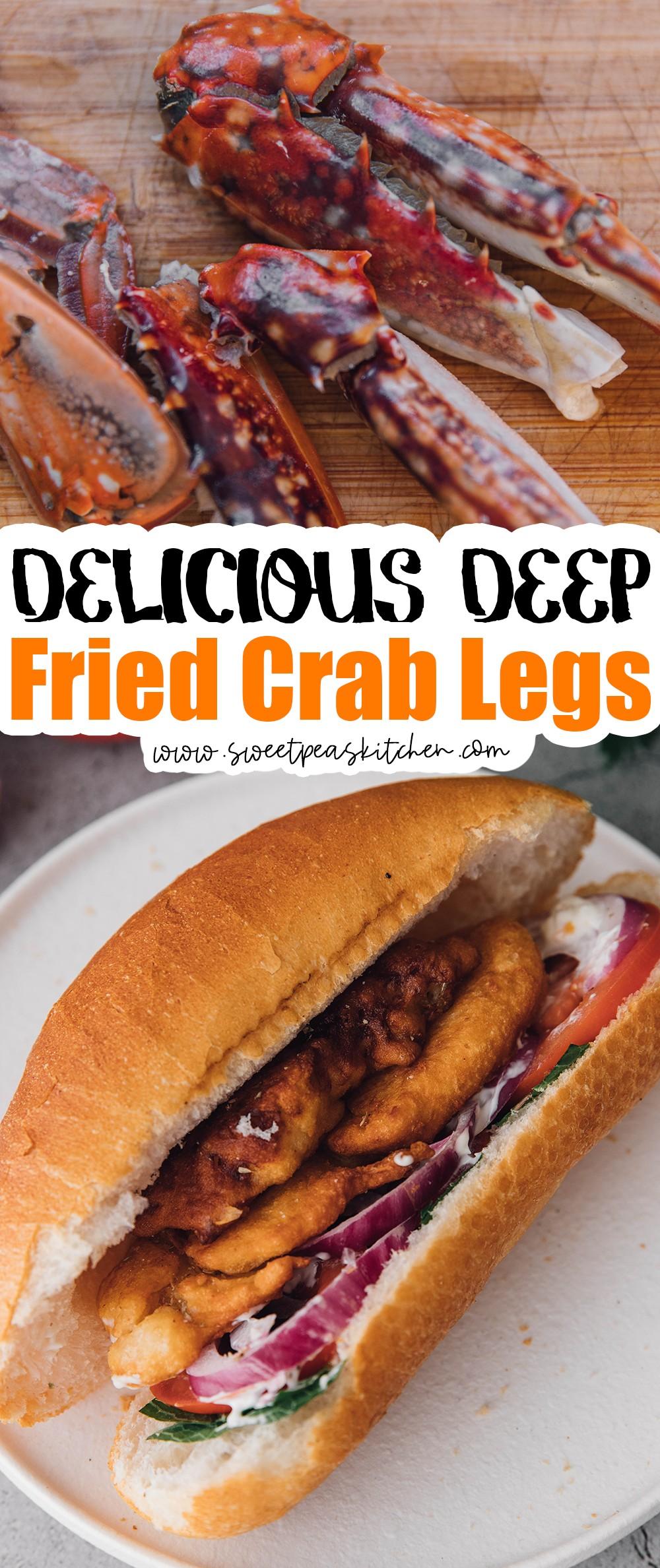Deep Fried Crab Legs